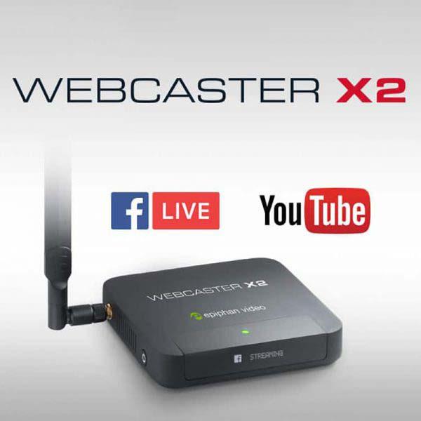 WEBCASTER X2